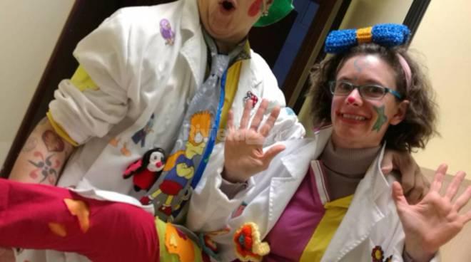 Riviera24 - Max Speranza e Davide Binaggia Clown per Bene