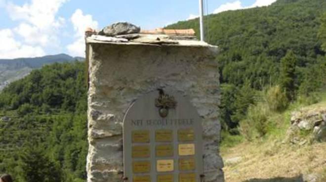 riviera24 -Monumento dei carabinieri a Creppo