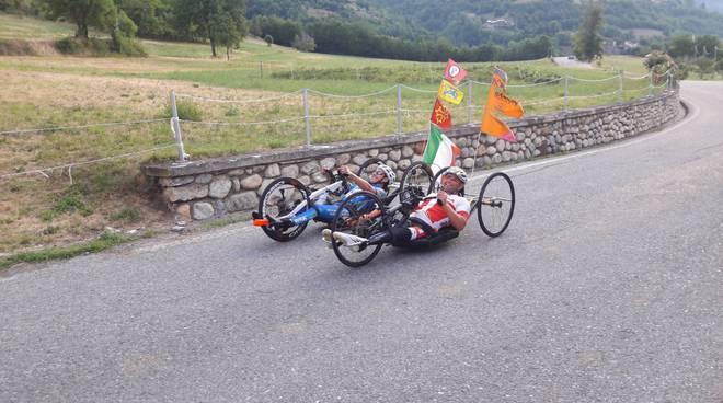 riviera24 -  Paolo Francione dell'IntegrAbili Handbike Team
