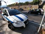 RIVIERA24 - SANREMO INCIDENTE SCOOTER AUTO POLIZIA LOCALE