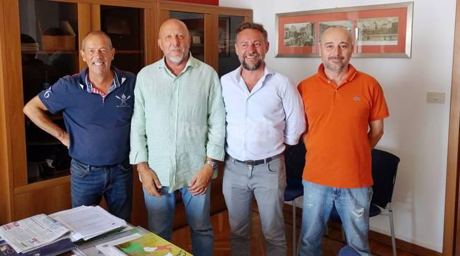 Riviera24-sindaco pallanca e blancardi