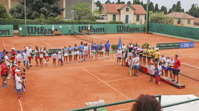 Sanremo, L'Ucraina vince la European Summer Cup. Tutte le squadre premiate al tennis club foce