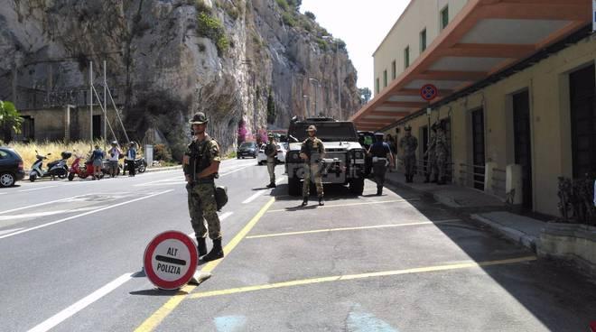 Ventimiglia - Ponte San Luigi, conferenza Polizia di frontiera 7 luglio