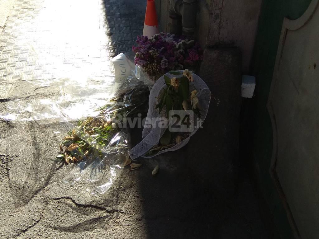 fiori bimbo morto imperia
