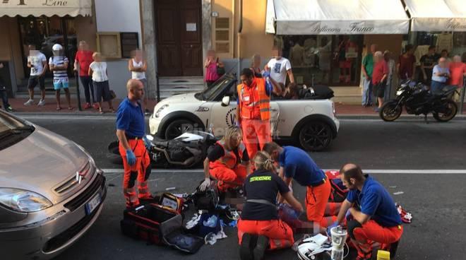 Ventimiglia. Incidente in moto morto Luca Colangelo