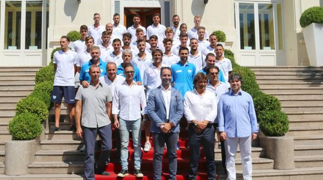 La presentazione della squadra al Casinò di Sanremo