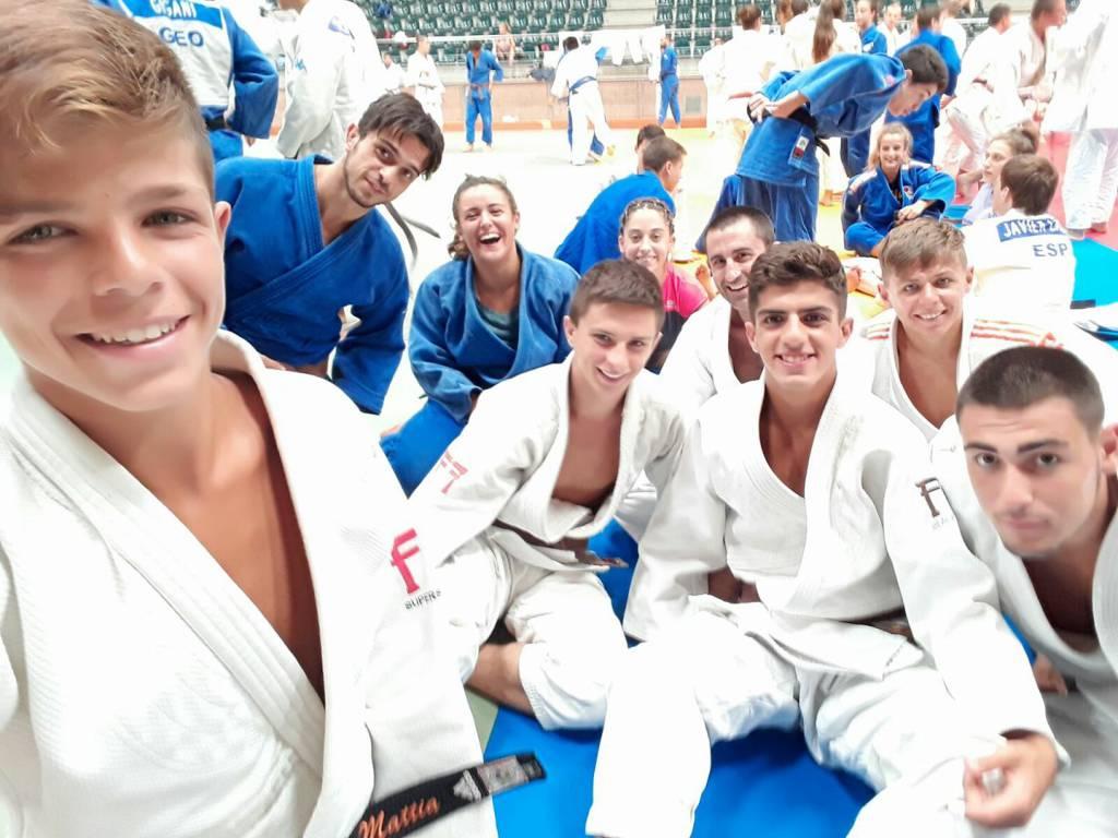 Ragazzi Circolo Judo Sanremo a Cambrils