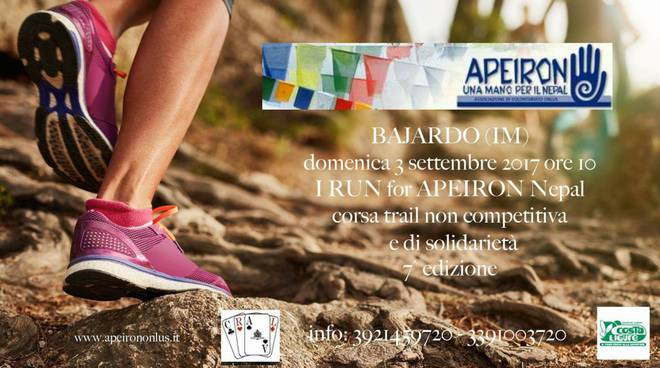 riviera24 - I run for Apeiron Nepal a Bajardo
