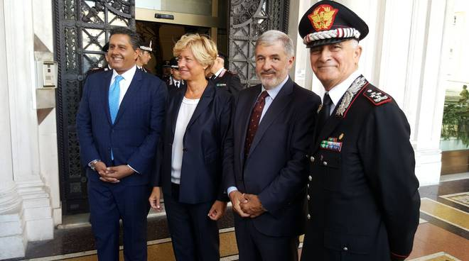 riviera24 - Protocollo d'intesa tra Regione Liguria e carabinieri