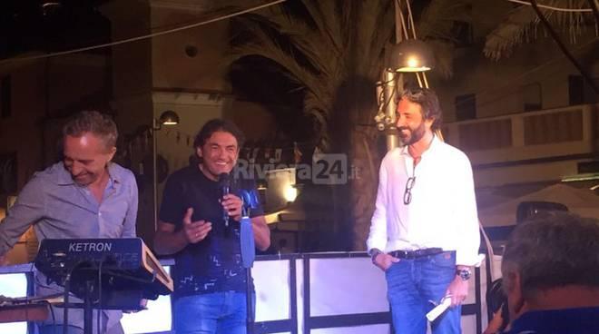 """Riviera24 - Taggia Claudio """"El Diablo"""" Chiappucci: la premiazione"""