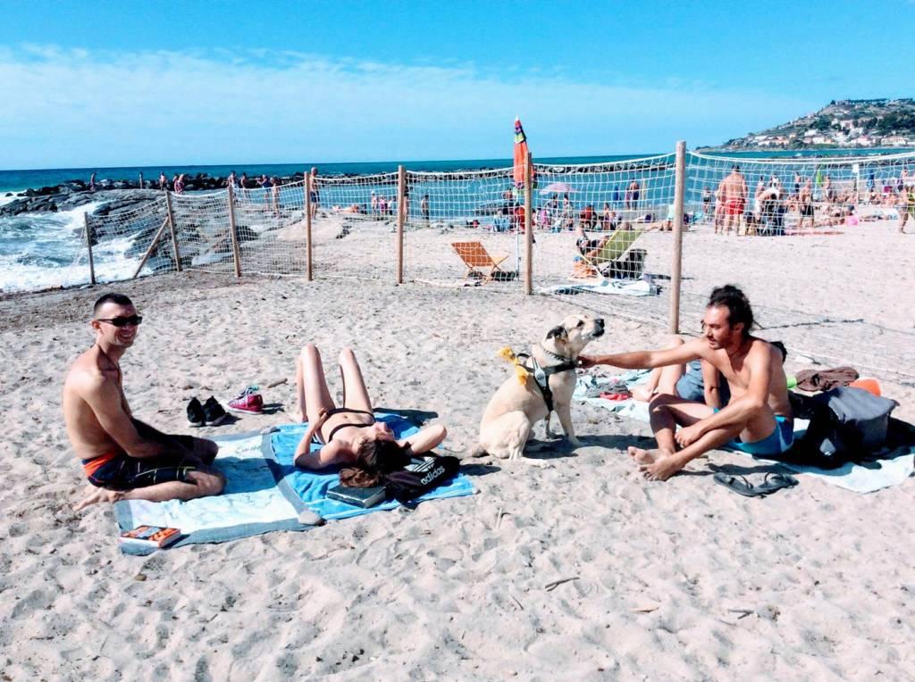 Spiaggia cani a Taggia