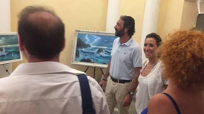 Taggia, inaugurazione mostra Villa Curlo