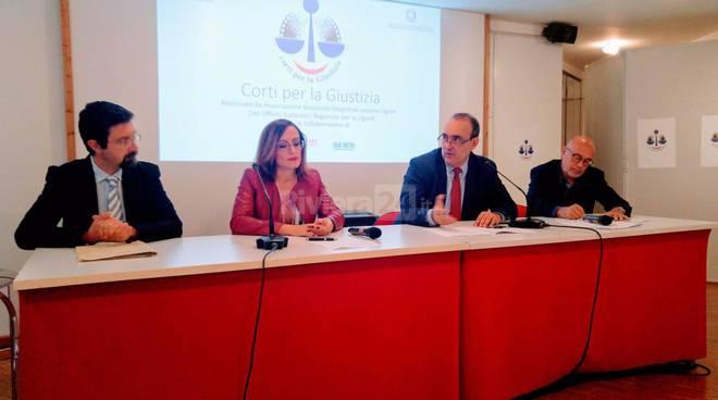 """""""Corti per la giustizia"""", conferenza stampa"""