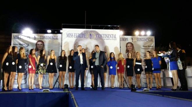 La ventimigliese Linda Massaro è Miss Europe Continental Liguria 2017