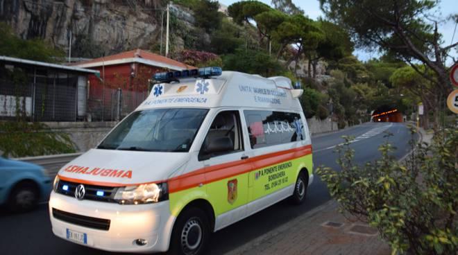 ponente emergenza bordighera