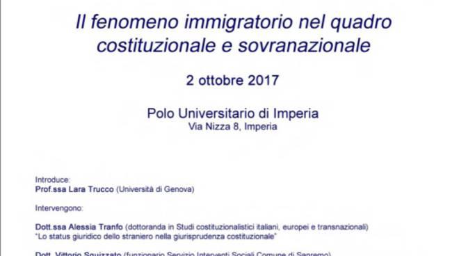 riviera 24 - seminario immigrazione imperia
