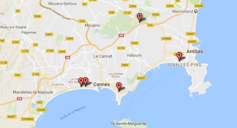 Costa Azzurra Cartina Politica.Autovelox Fissi E Semaforici Ecco La Mappa Di Quelli Istallati In Costa Azzurra Riviera24