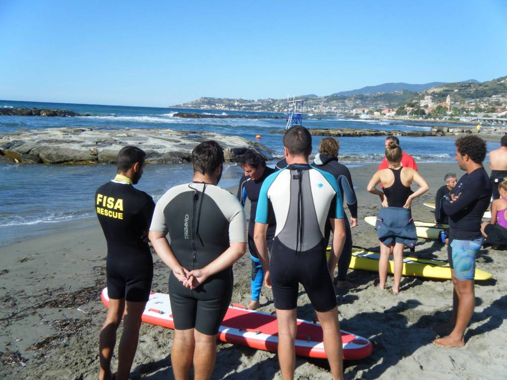 riviera24 - Corso per soccorritori e istruttori Rescue Board Fisa/Apola