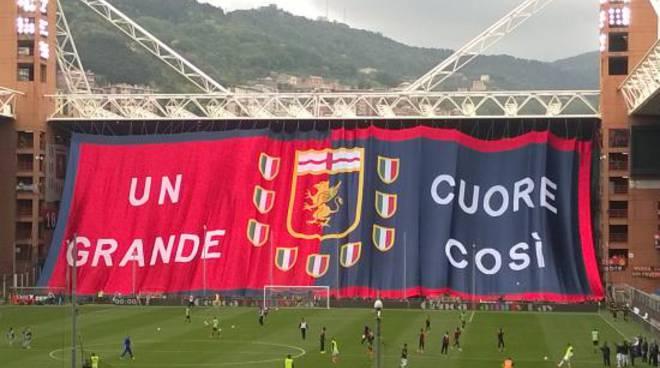riviera24 - Genoa tifo