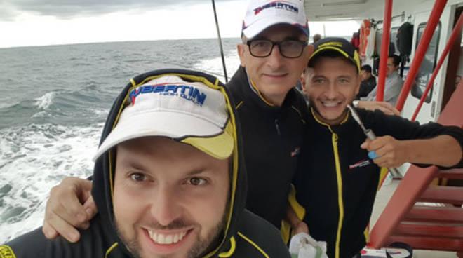 riviera24 - Mattia Ferrari, Matteo Riccitelli e Fabio Catulini
