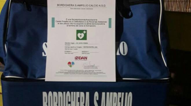 """riviera24 - ordighera S.Ampelio Calcio """"Cardio Protetta"""""""