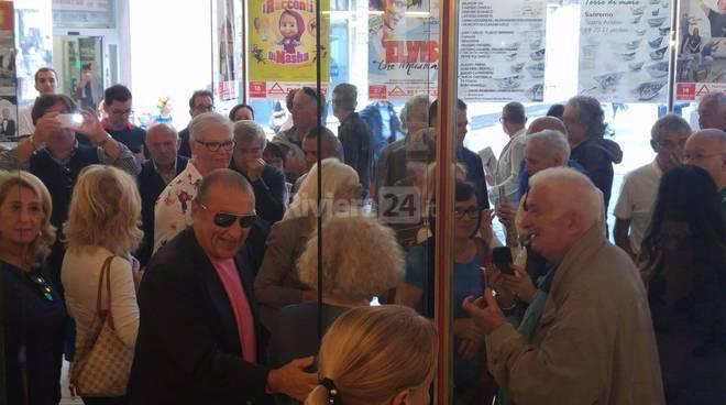 Sanremo, Albano e Tony Renis all'Ariston
