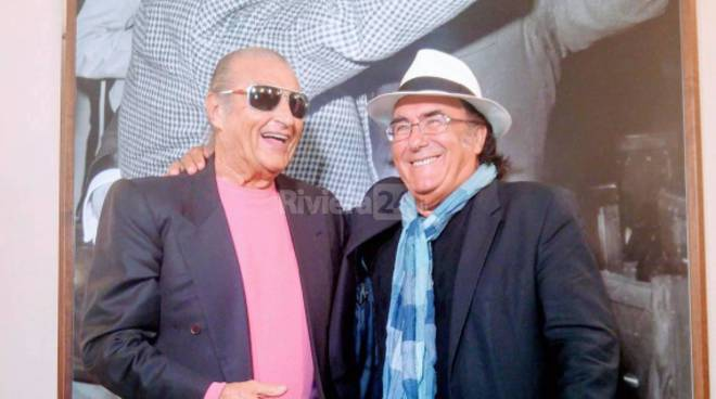 Sanremo, Albano e Tony Renis all'Ariston