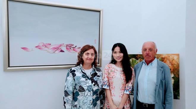Sanremo, mostra Sissi Wang a Palazzo Nota