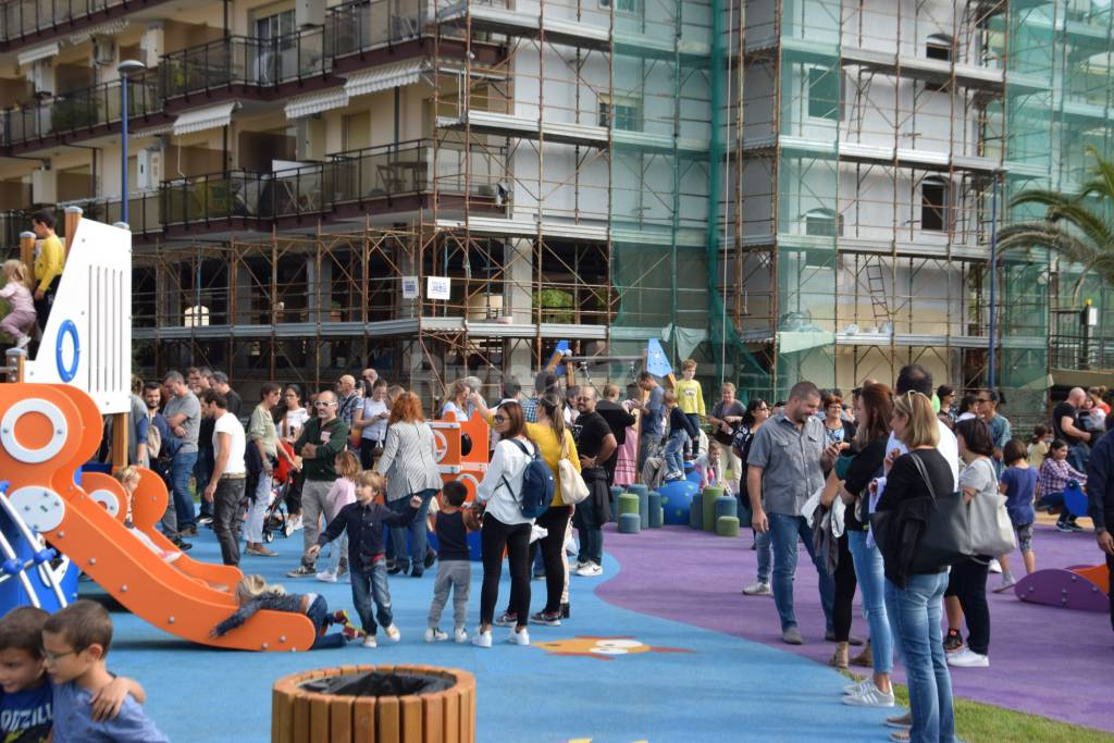 Ventimiglia inaugurazione parco Corsaro Nero