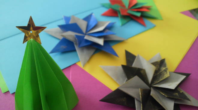 origami natalizi