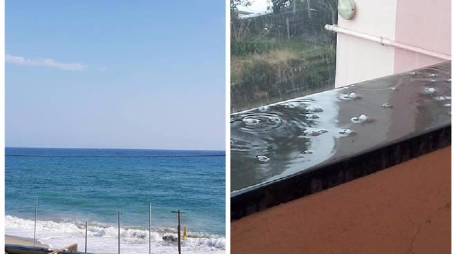 pioggia vs sole