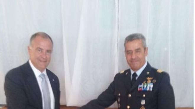 Riviera 24 - cerimonia aeronautica militare Imperia