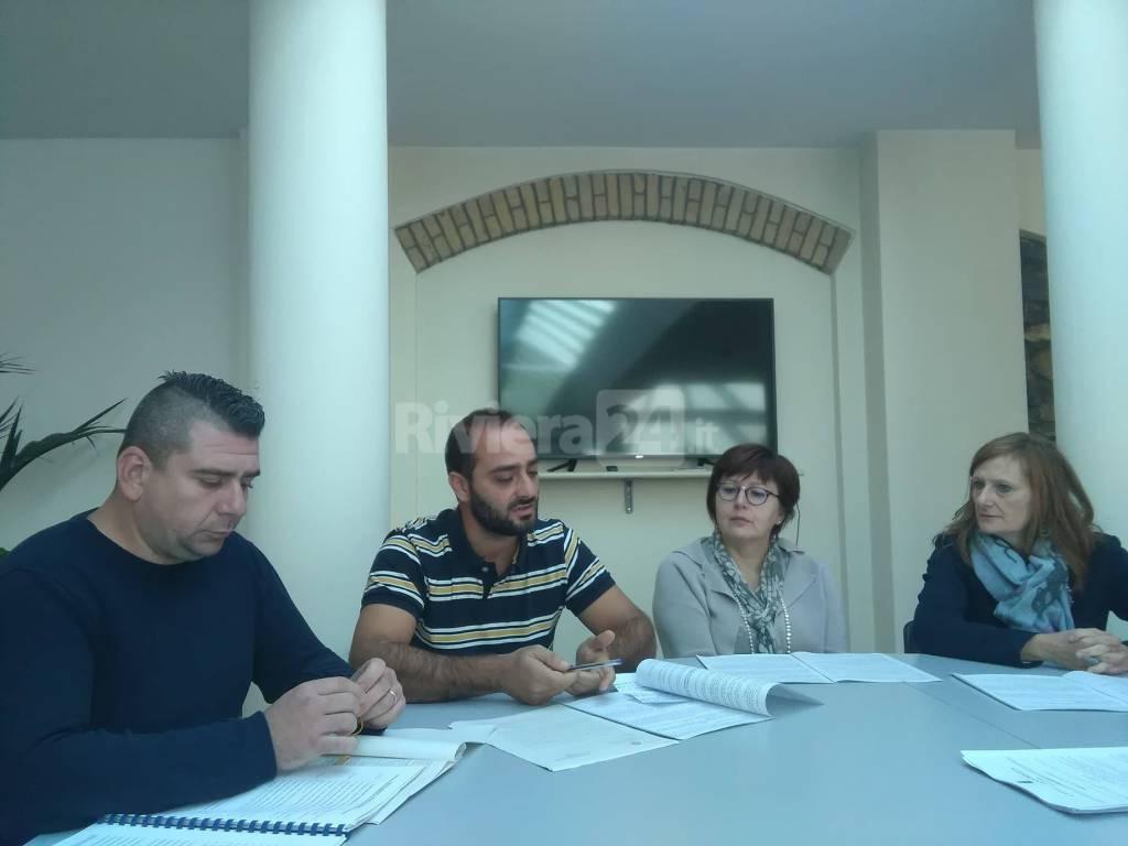 riviera24 - Conferenza stampa a Ventimiglia su allerta meteo