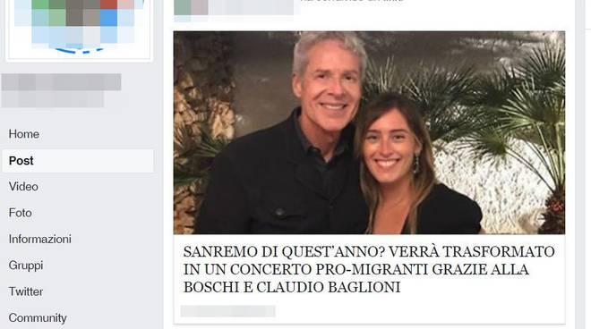 riviera24 - Sanremo 2018 sarà un concerto pro-migranti grazie a Baglioni e la Boschi