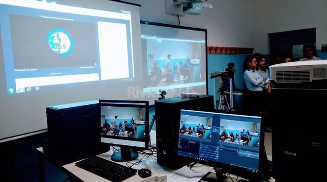 Sanremo, gli studenti del Cassini in collegamento con l'astronauta Paolo Nespoli