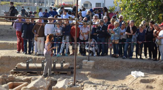 Scavo archeologico città di Albintimilium