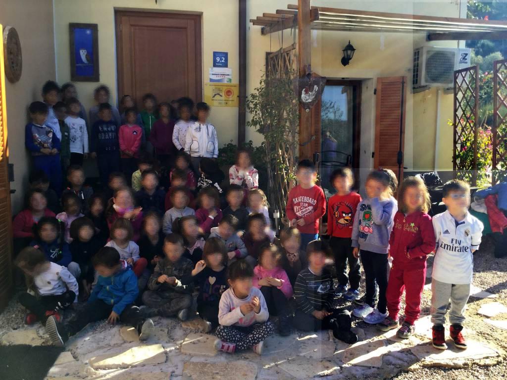 bambini scuole visita seborga