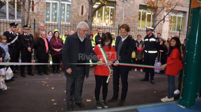 Inaugurazione palestra Vallecrosia