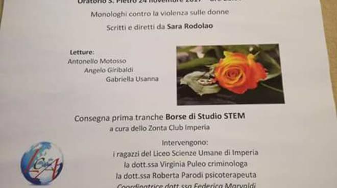 Riviera 24 - Zonta club contro la violenza sulle donne
