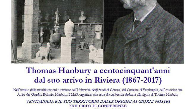 Riviera24 -  Ciclo di incontri Thomas Hanbury