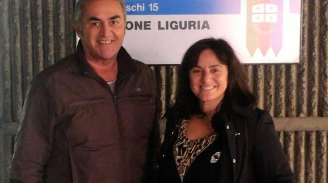 riviera24 - Claudio Muzio e Sonia Viale