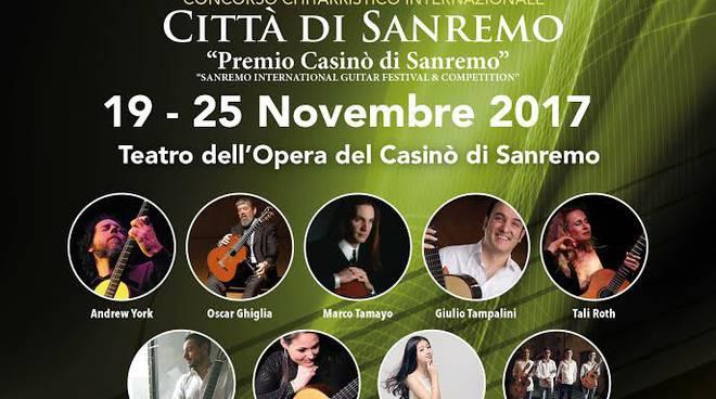 """riviera24 - Concorso chitarristico internazionale """"Premio Casinò di Sanremo"""""""