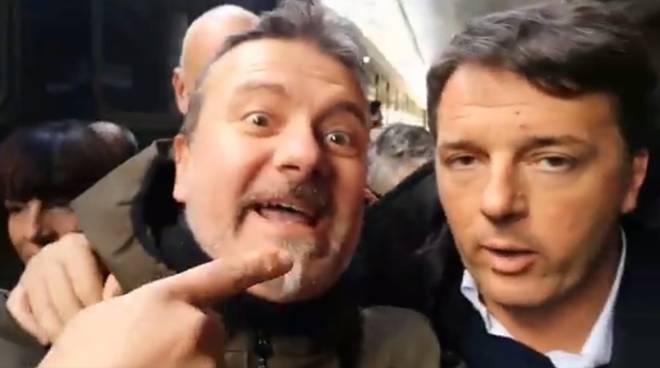 riviera24 - Davide Biancheri  Matteo Renzi