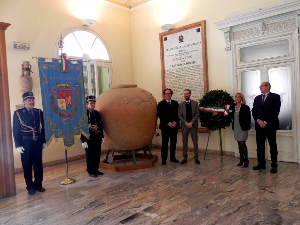 riviera24 - Imperia ricorda la ricompensa al valor militare per l'attività partigiana
