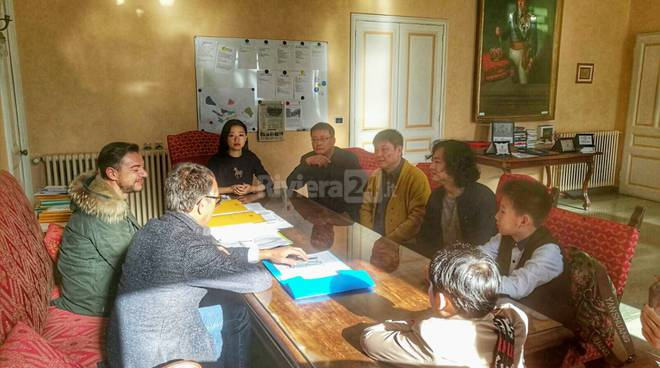 Riviera24-Patto di amicizia tra Sanremo e Anshan, delegazione cinese in visita al sindaco Biancheri