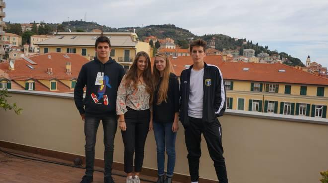 riviera24 - Sofia Barberis, Anna Campi, Filippo Verda,Lorenzo Giostra