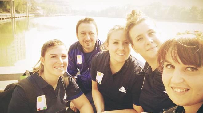 riviera24 - Valentina Petulicchio, Jessica Rattenni, Serena Sacco e Vanessa Romeo