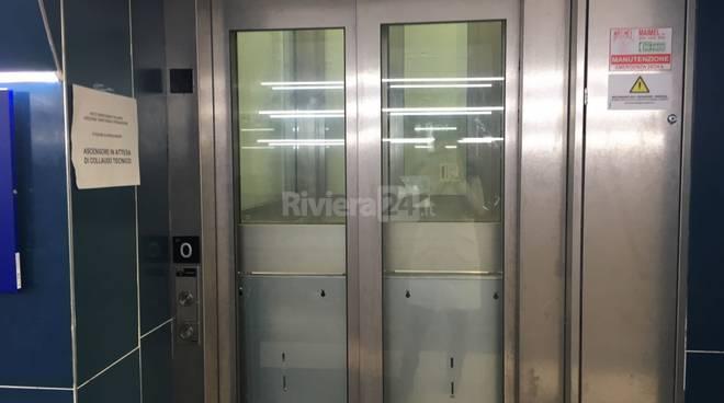 ascensori stazione Bordighera