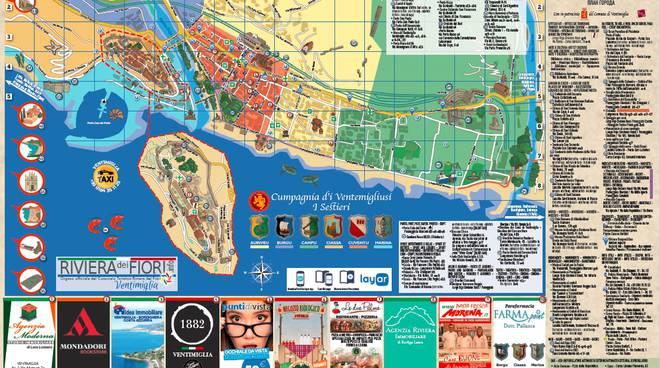 Cartina Ventimiglia
