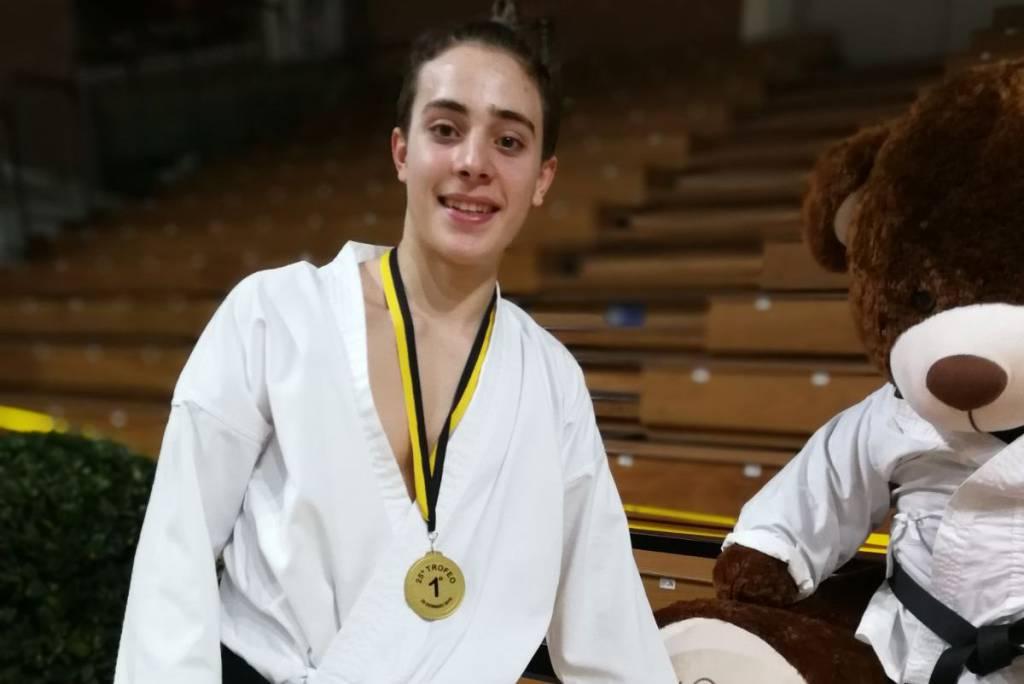 Christopher Pannese del Karate Sanremo